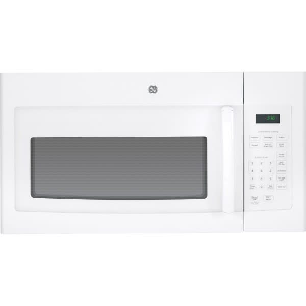 GE® 1.6 Cu. Ft.  Over-The-Range Microwave Oven (JVM3160DFWW)