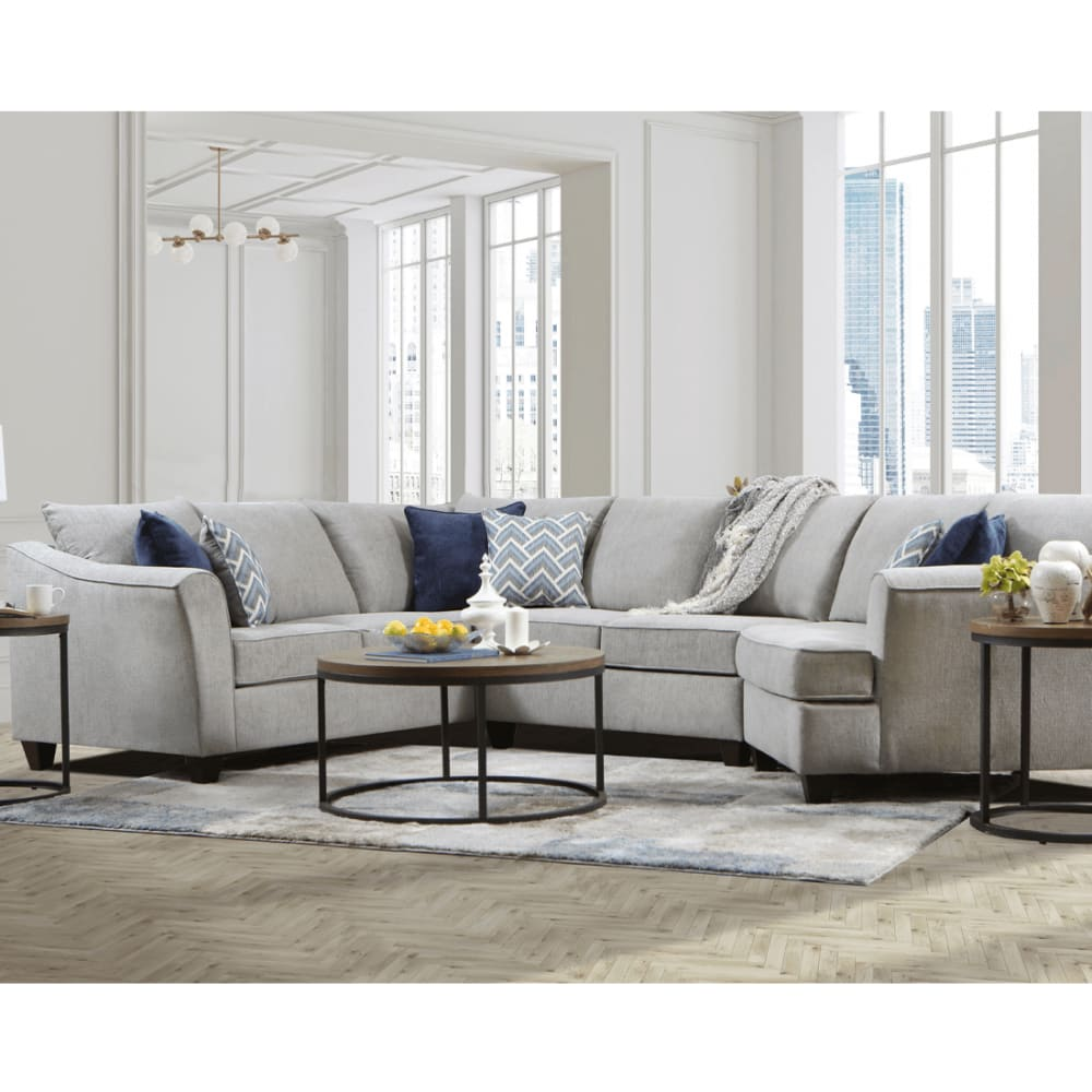 Kirby Collection Gray Sectional