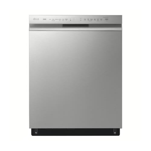 LG Front Control Dishwasher with QuadWash™ - LDFN4542S