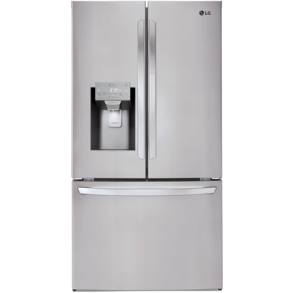 LG 26 Cu. Ft. Smart Wi-Fi Enabled French Door Refrigerator (LFXS26973S)