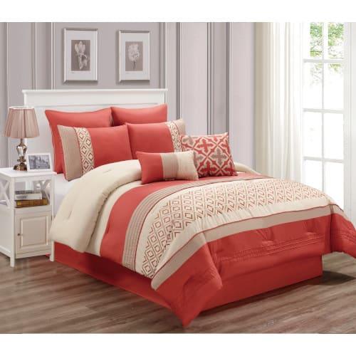 Lindy 6 Piece Comforter Set - King (80285)