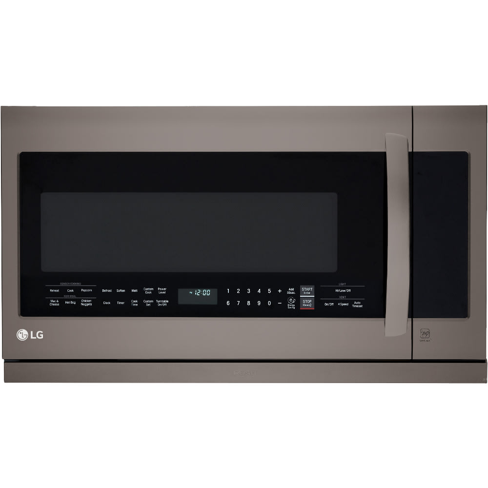 LG Black Stainless Steel Series 2.2 Cu.Ft. Over-the-Range Microwave Oven (LMHM2237BD)