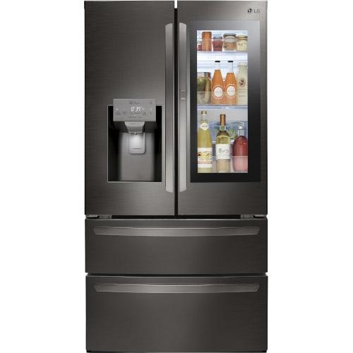LG 28 Cu. Ft. Smart Wi-Fi Enabled InstaView™ Door-in-Door® Refrigerator - LMXS28596D