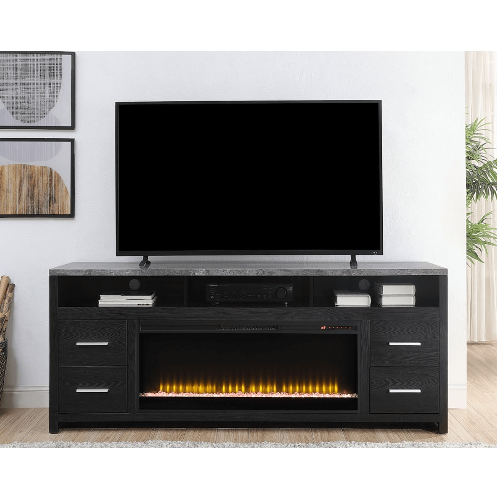 Logan Collection Fireplace TV Stand