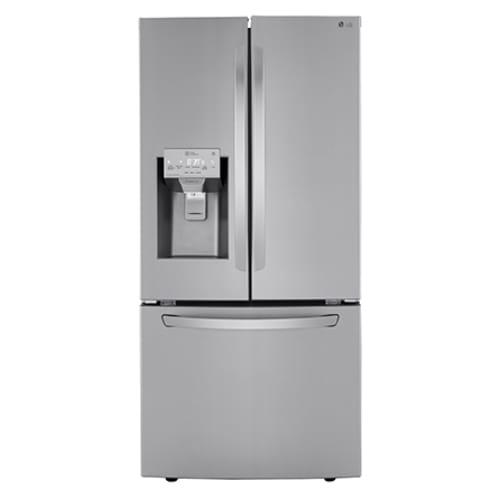 "LG 25 cu ft 33"" Wide French Door Refrigerator"