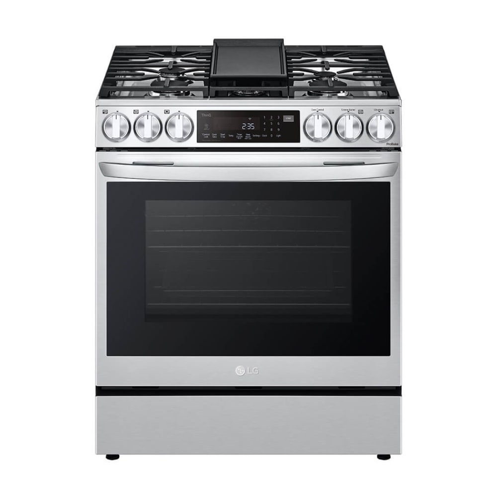 LG 6.3 cu. ft. Slide-In Gas Range WiFi Enabled w/ ProBake Convection