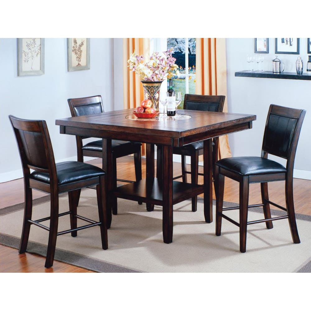 Mirada Dining - Counter Height Table & 4 Chairs (2727)