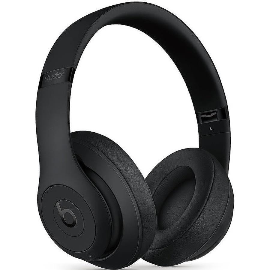 Beats by Dr. Dre Studio3 Wireless Headphones - Black (MQ562LLA)