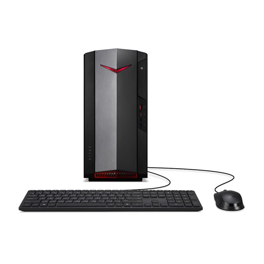 Acer Nitro 50 - Intel Core i5-10400F - 8 GB DDR4 - 512 GB SSD - GeForce GTX 1650 - Windows 10 Home - Gaming Desktop - N50610UR14