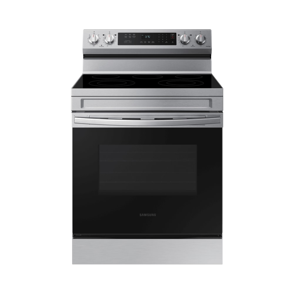 Samsung Smart Freestanding Electric Range with Rapid Boil & Self Clean