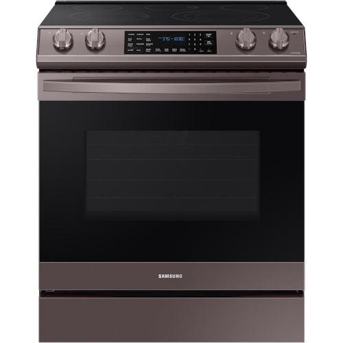 Samsung 6.3 cu. ft. Front Control Slide-in Electric Range with Air Fry