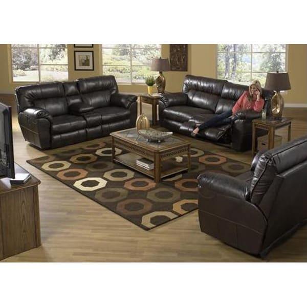 Nobel Living Room - Reclining Sofa & Loveseat - 404