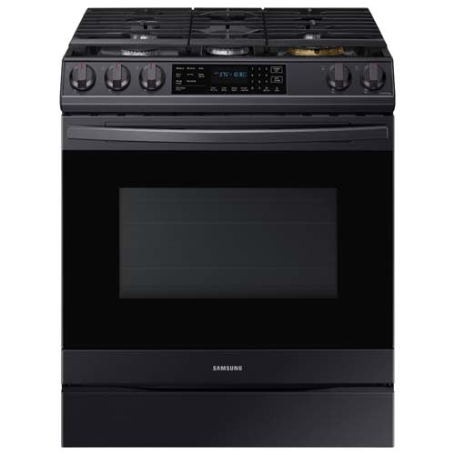 Samsung Front Control Slide-in Gas Range with Air Fry