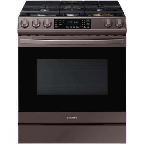 Samsung 6.0 cu. ft. Front Control Slide-in Gas Range with Air Fry