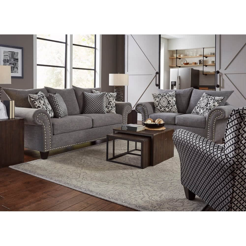 Paris Living Room - Sofa & Loveseat - PARIS2PCLR