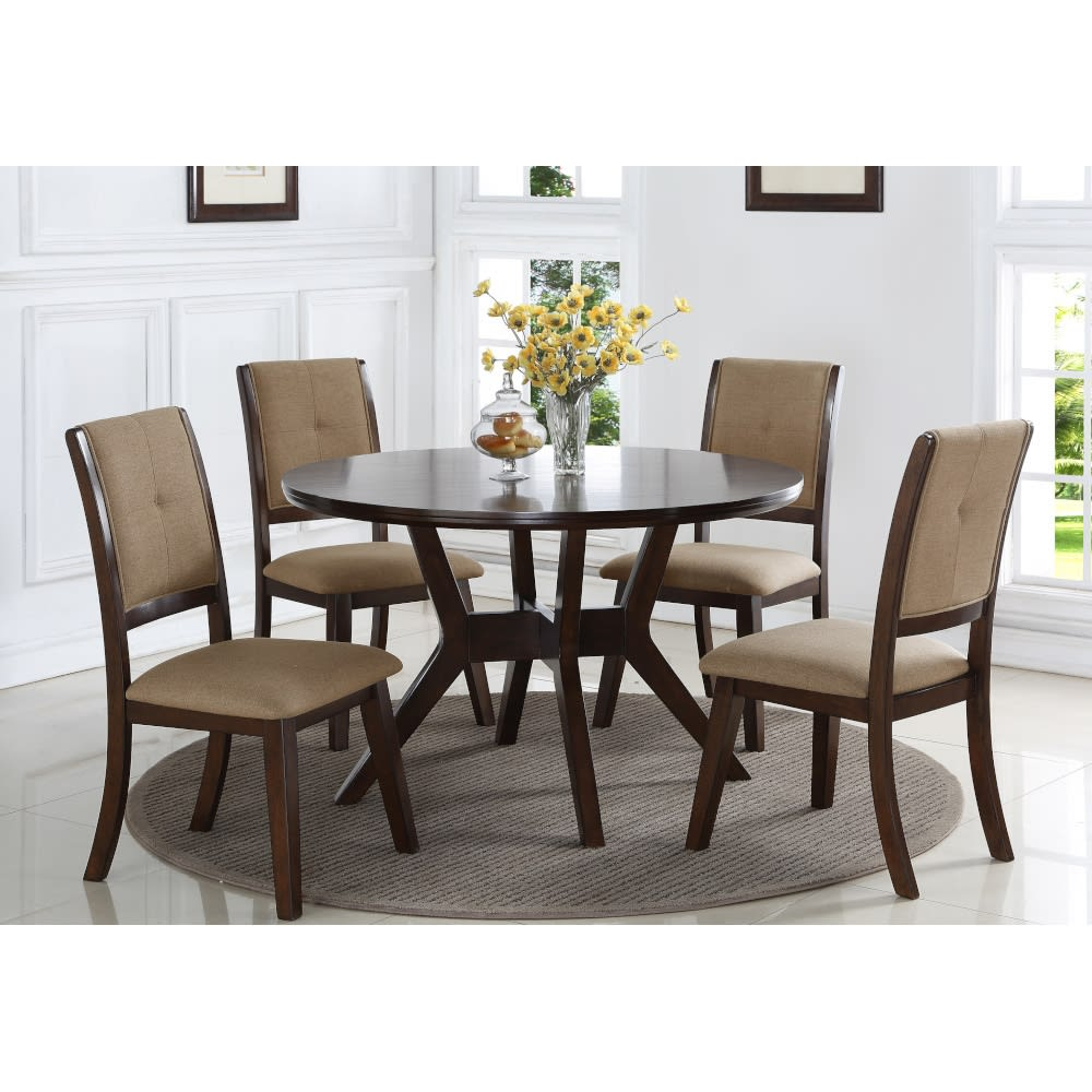 Park City Dining - Dining Table & 4 Dining Chairs - PARKCTYDR
