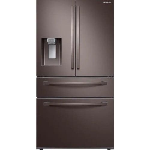 Samsung 28 Cu Ft. 4-Door French Door Refrigerator with Food Showcase (RF28R7351DT)
