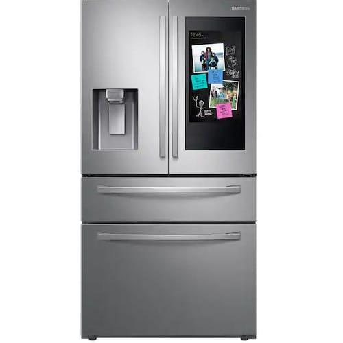 Samsung 28 Cu. Ft. 4-door French Door Refrigerator - Stainless Steel (RF28R7551SR)