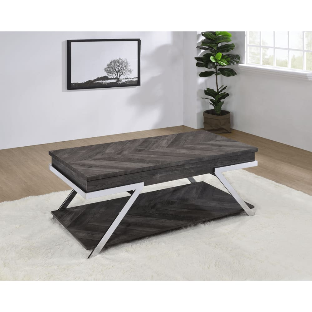 Roma Collection Lift Cocktail Table