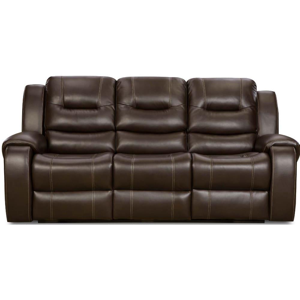 Titan Reclining Sofa - Chocolate (7140630)