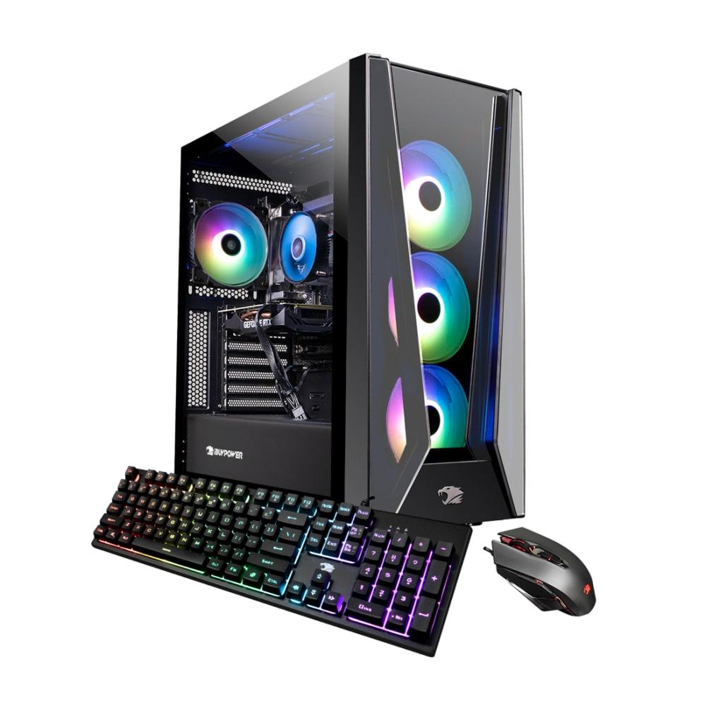 iBUYPOWER Trace5 MR Gaming Desktop Intel i7-11700 16GB 480GB SSD RTX 2060 - TRACE5MR178I