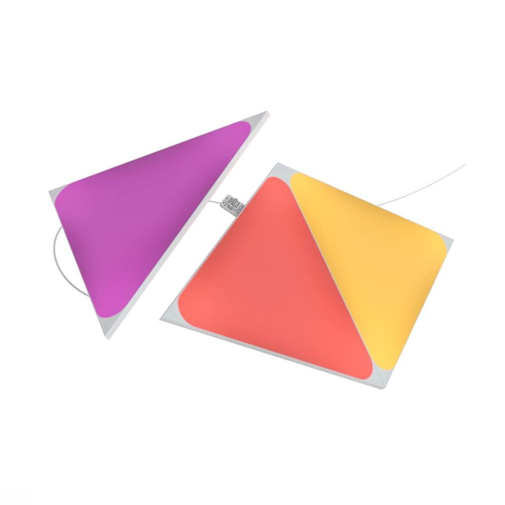Nanoleaf Shapes - Triangles - 3 Pc Expansion Pack - Modular Lighting