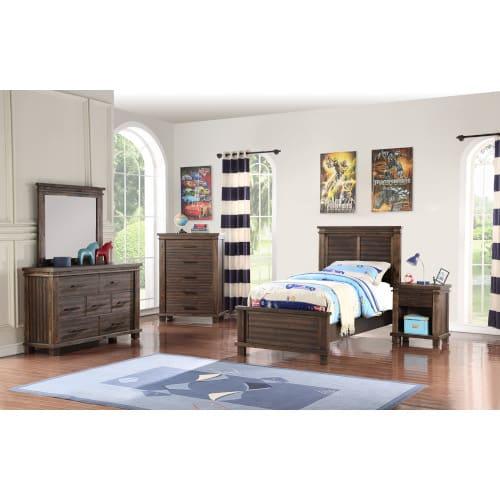 Vanguard 3pc Full Bedroom - VANGRDFL3PC