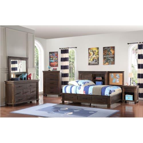 Vanguard 3pc Full Studio Bedroom - VANGRDFLSTD3PC