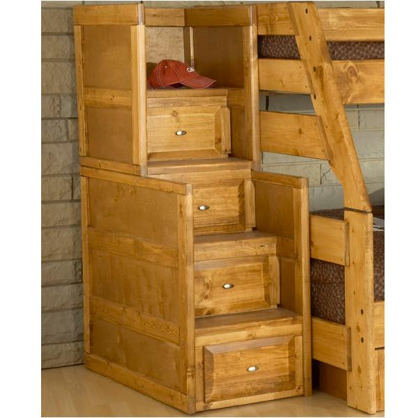Visions Bunk Bed Stairway Chest (4352AP)