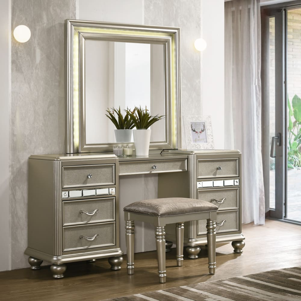 Gia Collection Vanity and Stool