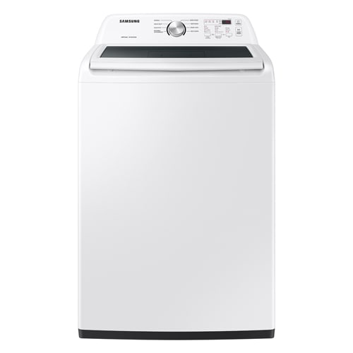 Samsung 4.4 cu. ft. Top Load Washer with ActiveWave™ Agitator and Soft-Close Lid in White - WA44A3205AW