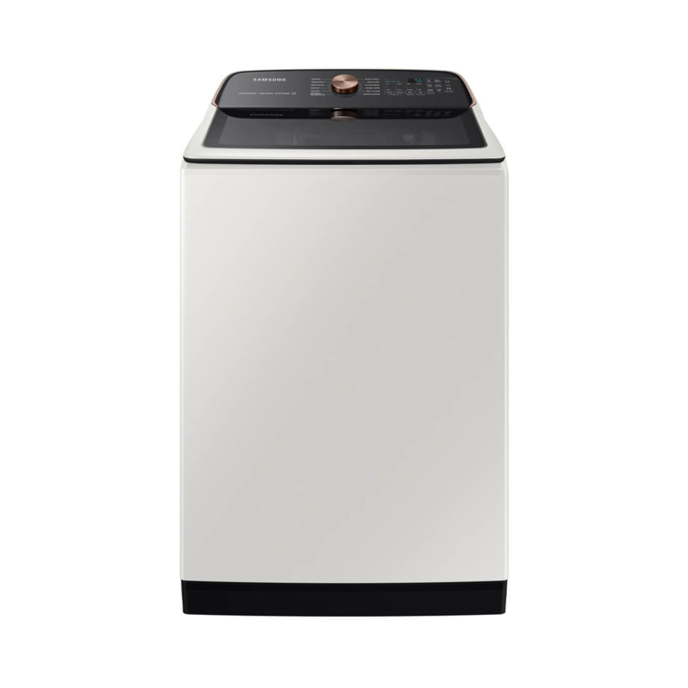 Samsung 5.5 cu. ft. Ivory Extra-Large Capacity Smart Top Load Washer