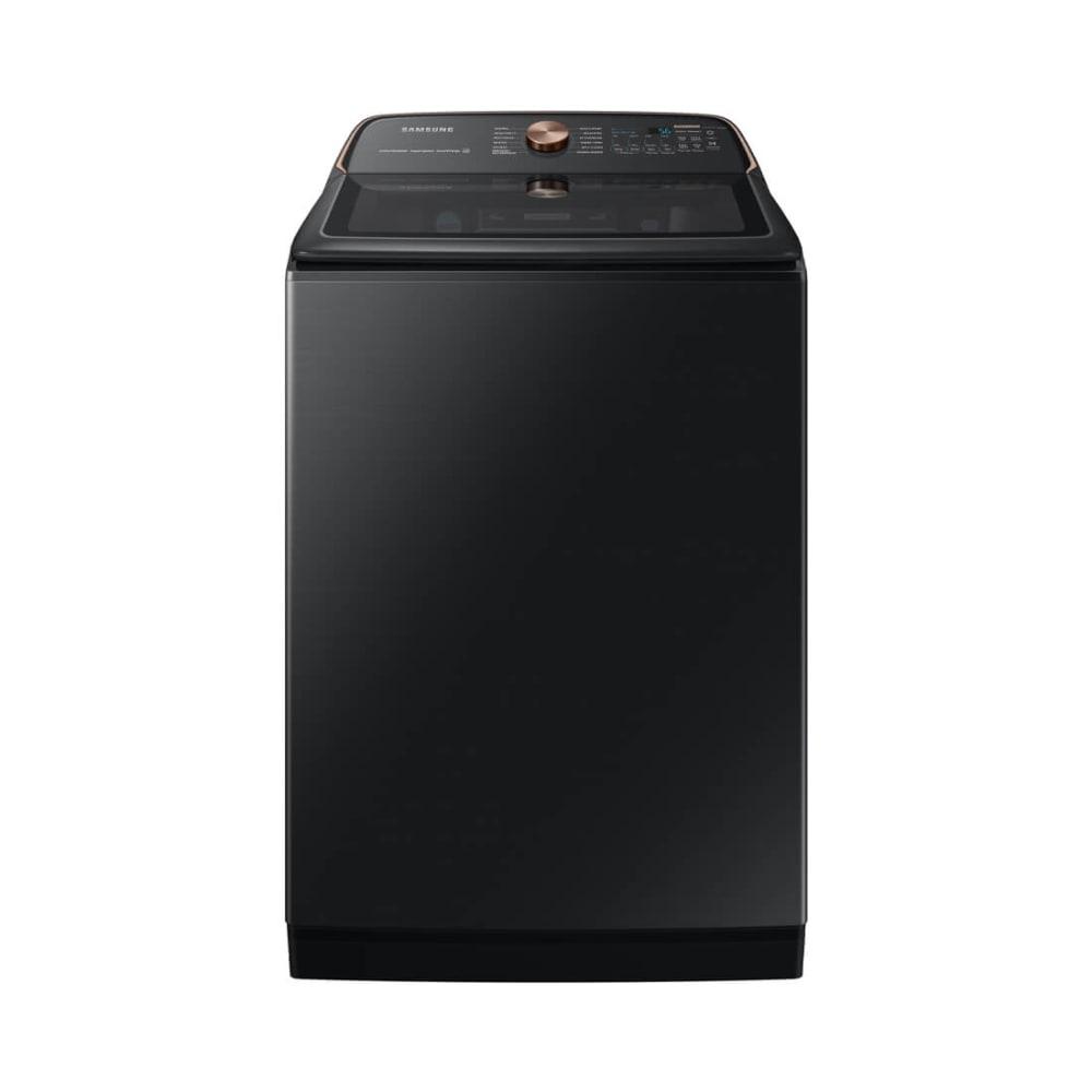 5.5 cu. ft. Extra-Large Capacity Brushed Black Smart Top Load Washer