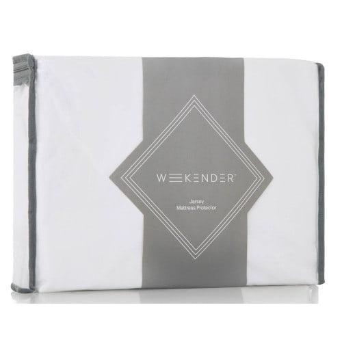 Weekender Jersey Waterproof Fitted Mattress Protector - King (WK0PKKMP)