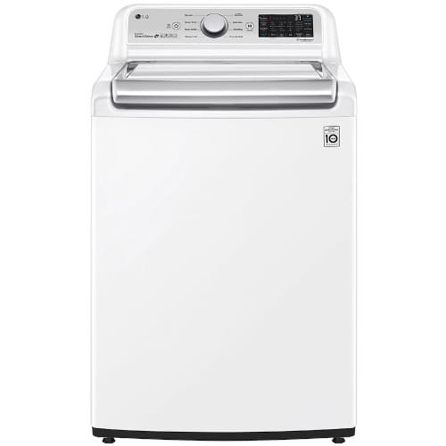 LG 4.8 cu. ft. Mega Capacity Smart wi-fi Enabled Top Load Washer with Agitator and TurboWash3D™ Technology