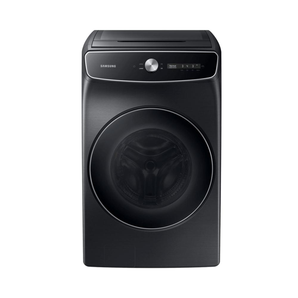 Samsung 6.0 Cu. Ft. Brushed Black Smart Dial Washer with FlexWash
