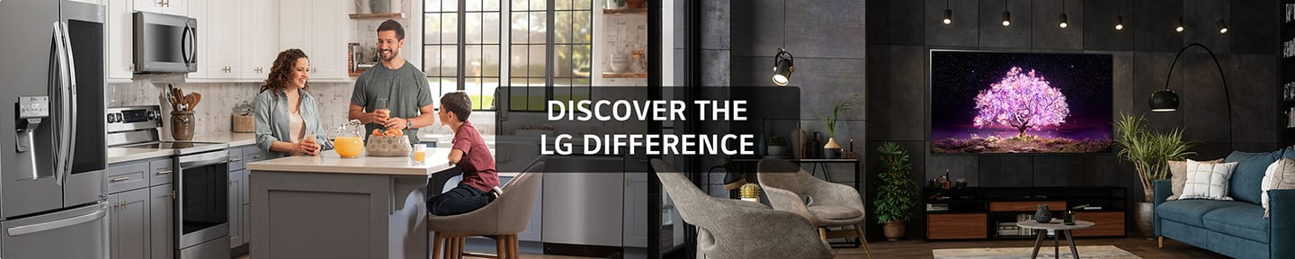Discover the LG Difference